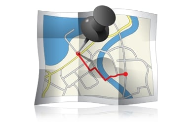 view complete travel route completed by your target phone