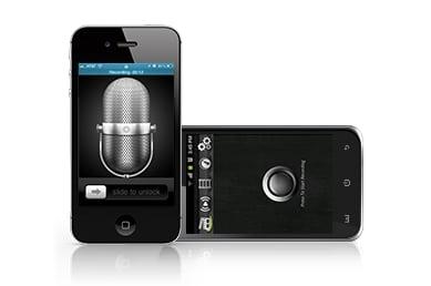 record phone surroundings